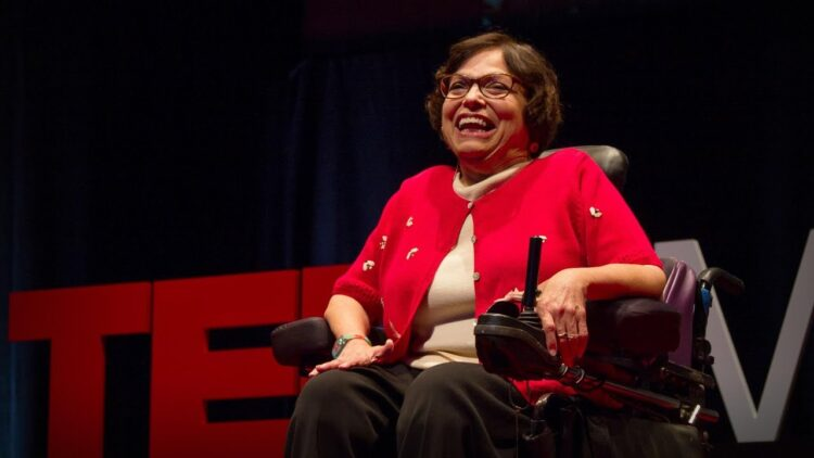 Judith Heumann teaches us how to stop a bus with a wheelchair and fight for social justice